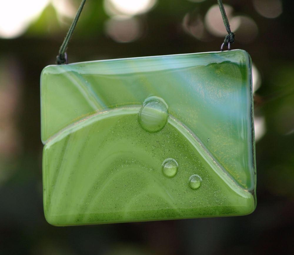 Dew drop leaf b
