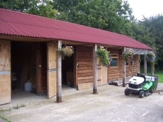 stable tack room and store
