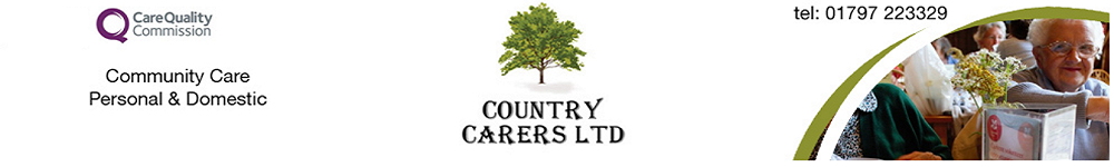 Country Carer's ltd, site logo.