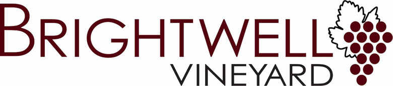 Brightwell Vineyard, site logo.