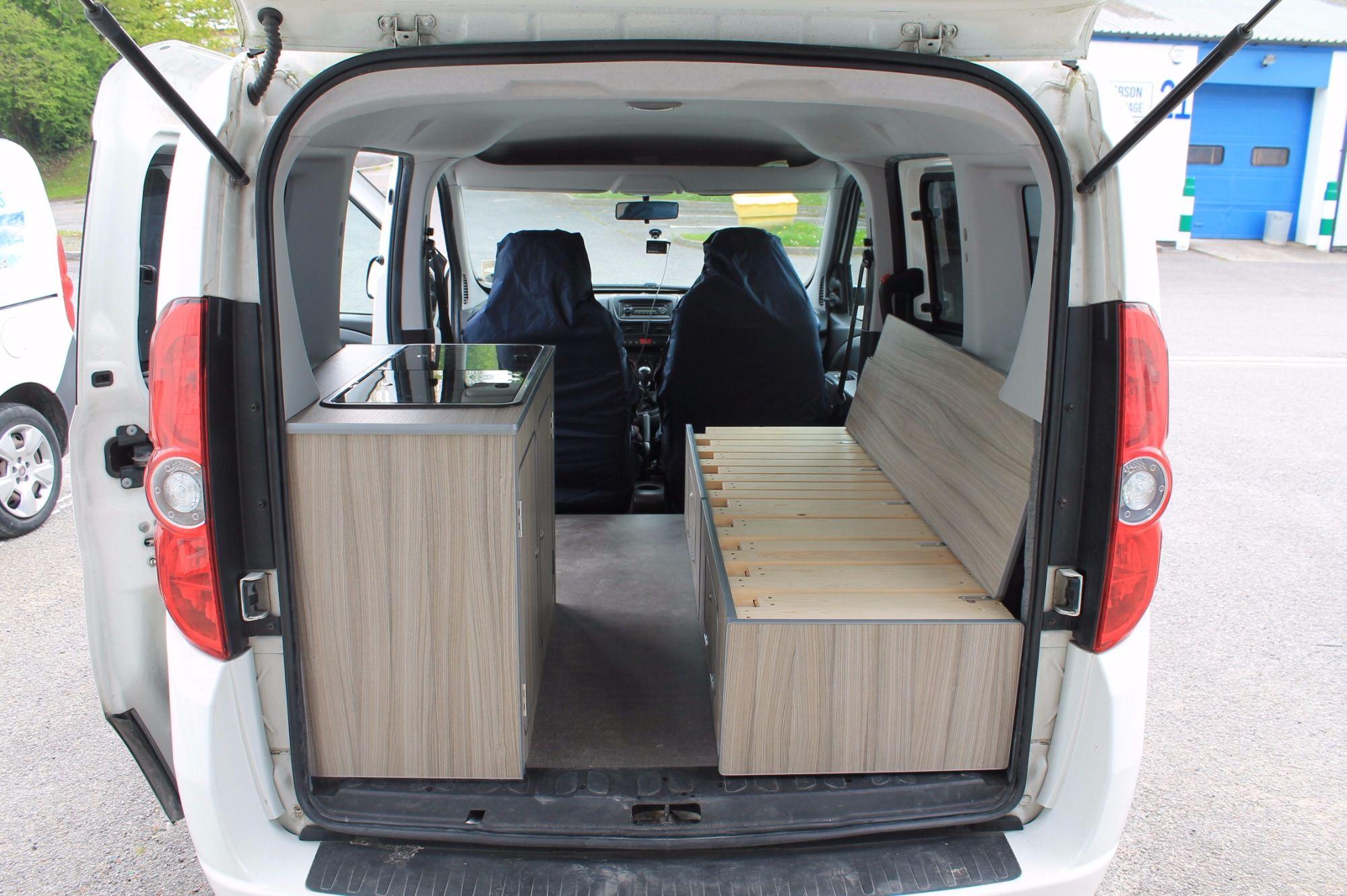 Fiat Doblo 2 Seater Micro Campervan