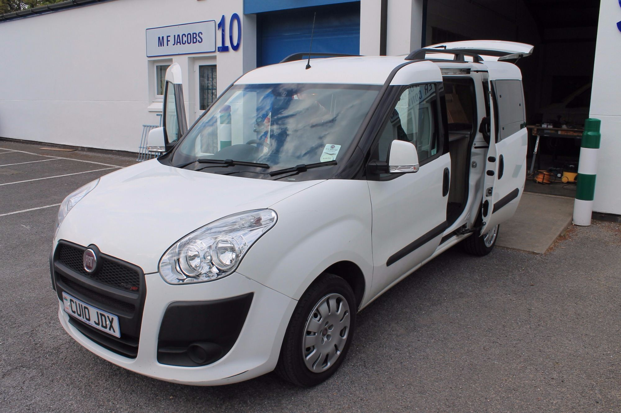 Vw Campervan Accessories >> Fiat Doblo 2 seater micro campervan