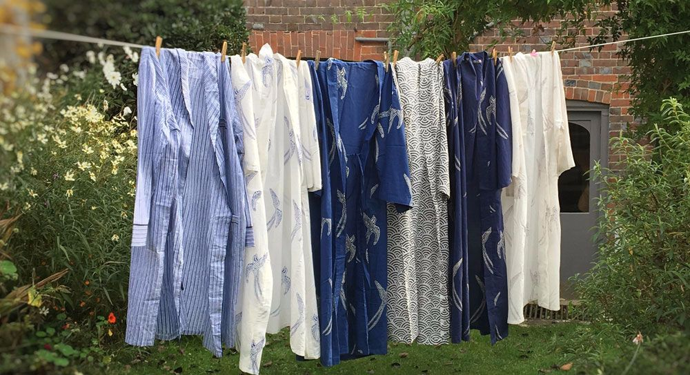 Robes on the line