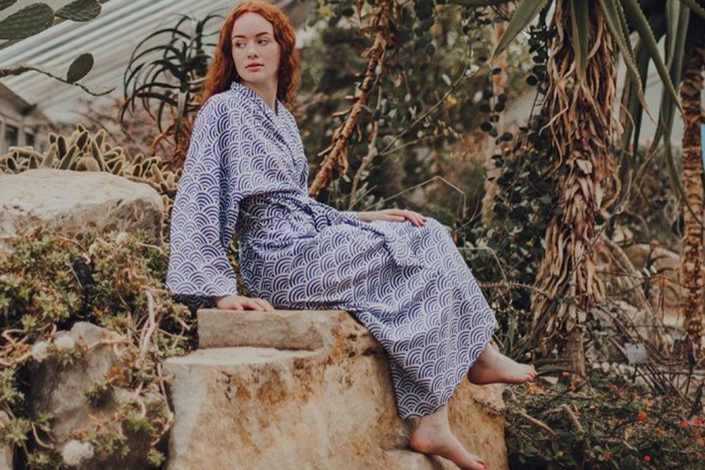 Susannah Cotton Dressing Gowns Shop