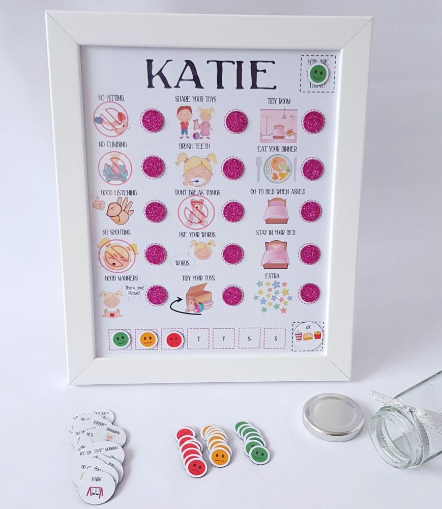 Early years, imagery reward chart, Personalised reward chart, pre-school, t