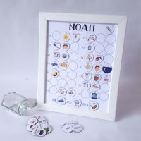 Pre-school, Imagery Now and Next Board, Personalised, Framed Magnetic Routine Chart, Early Years, Toddler, ASD, GDD, PECS, ADHD