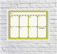 Student Planner, Weekly Schedule, For Boys, For Girls, Dry erase Planner, Dry Wipeboard