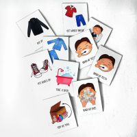 10 Custom Magnets, with pictures, Chore Chart, Reward Chart, Routine Chart