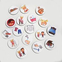 20 Kids Custom Magnets, with Pictures, Routine Chart, Chore Chart, Behaviour Tokens