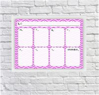 Student Planner, Weekly Schedule, For Girls, Dry erase Planner, Dry Wipeboard, After School Timetable