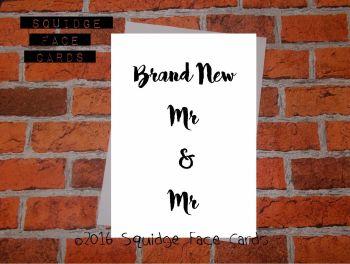 Brand New Mr & Mr