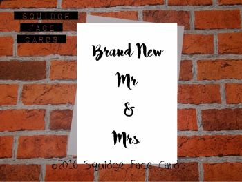 Brand New Mr & Mrs