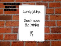Lovely jubbly - crack open the bubbly!