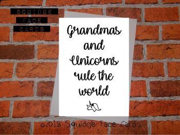 Grandmas and unicorns rule the world