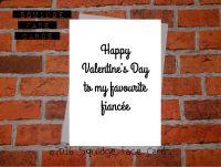 Happy Valentine's Day to my favourite Fiancee