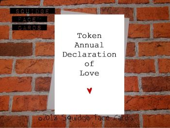 Token Annual Declaration of Love