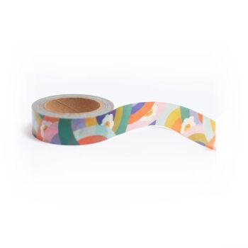 Smiley clouds washi tape