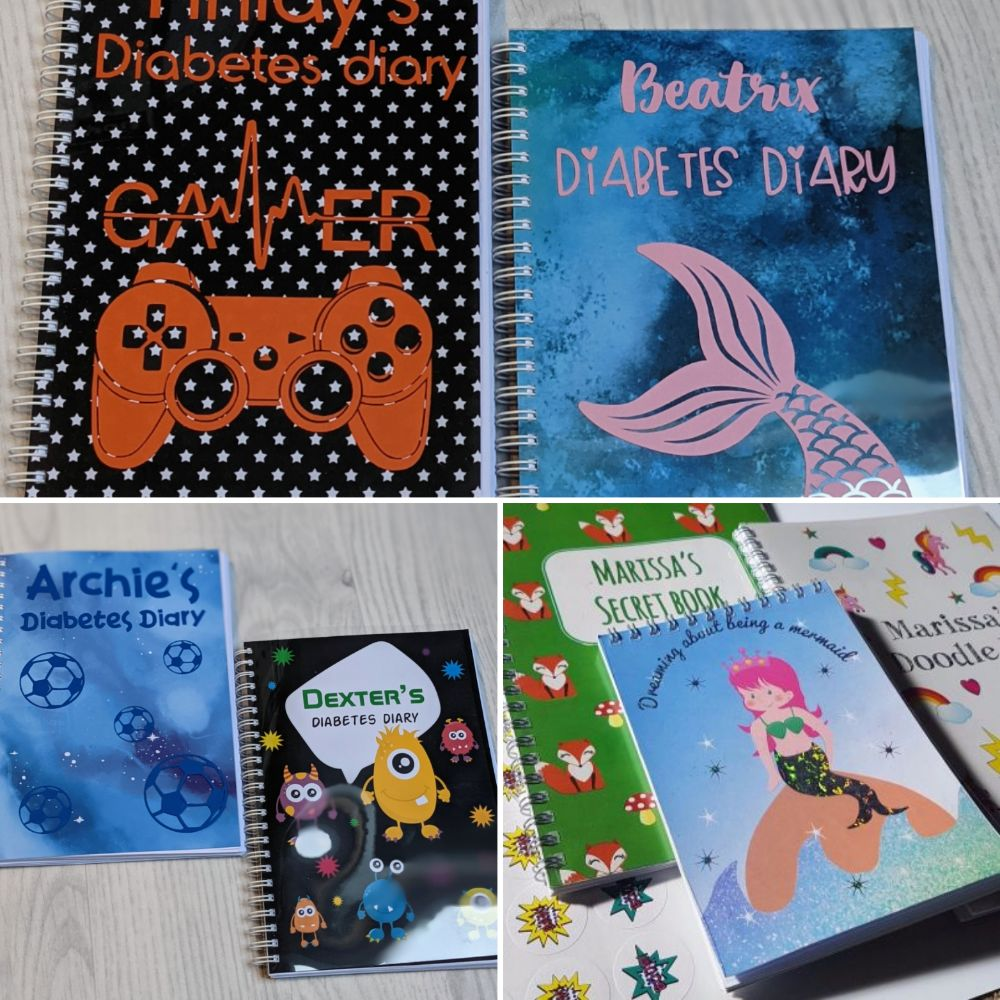 Childrens Stationery (Inc Diabetes diaries)