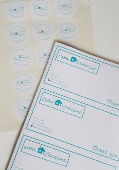 Compliments Slips design and print service