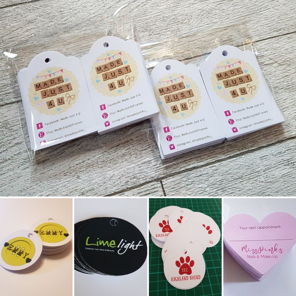 Swing tags/Product tags