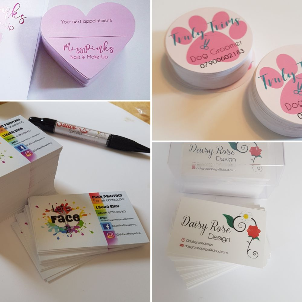 Cards for small business