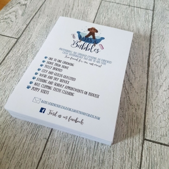 A6 Notelets design and print service