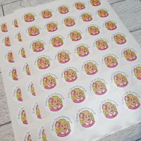 37mm Business stickers - Gloss