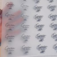 Logo vellum Wrapping sheets A4