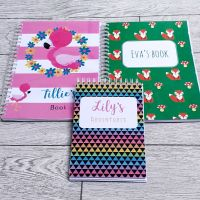 Kids personalised A5 notebooks!
