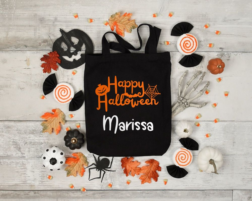 Trick or treat bags.