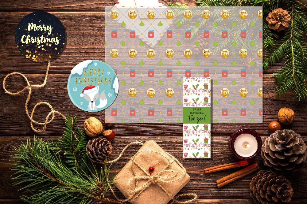 Christmas small business stationery