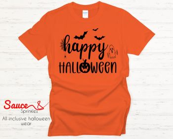 Happy Halloween tees - various colours and designs,  click for more