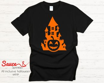 Haunted house tees - various colours