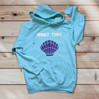 What the shell? Adult hoodie