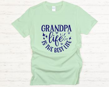 Grandpa life is the best life tee