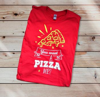 You want a pizza me? Unisex Top Tee T-shirt -Kids