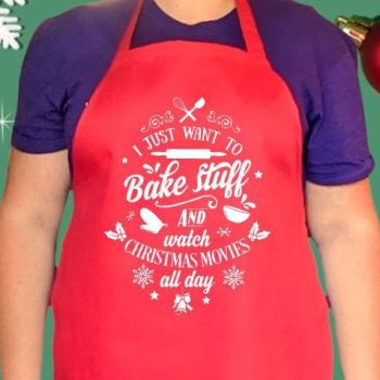 I just want to bake stuff and watch Christmas movies all day.