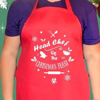 Head chef of the Christmas Feast