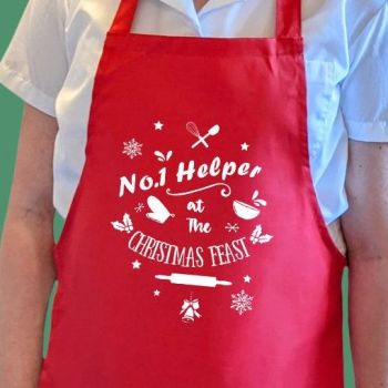 No. 1 Helper at the Christmas feast