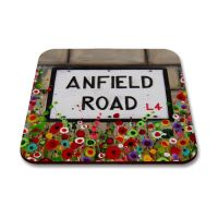 Jo Gough - LFC Anfield Road Sign Coaster