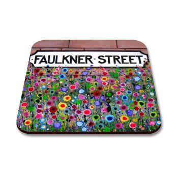 """Faulkner St, Hoole"" Coaster"