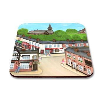 """Hoole High Street"" Coaster"