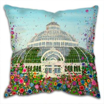"""The Palm House"" Cushion"