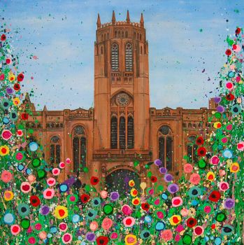 """Anglican Cathedral Canvas Print"" From £85"