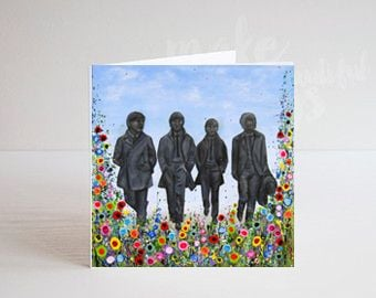 THE BEATLES GREETING CARDS