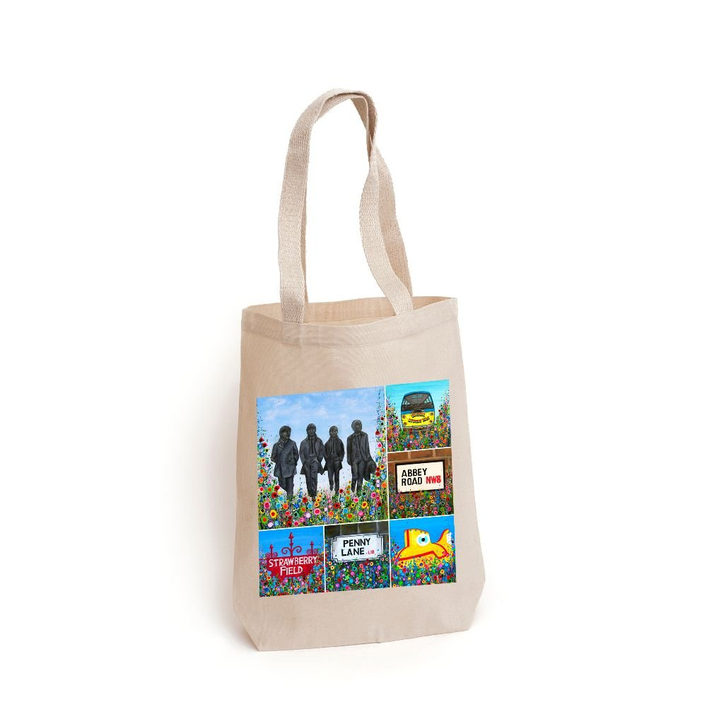 THE BEATLES TOTE BAGS