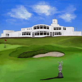 """Royal Birkdale Trophy"" Print"