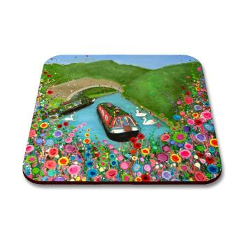"""Canal Boat"" Coaster"