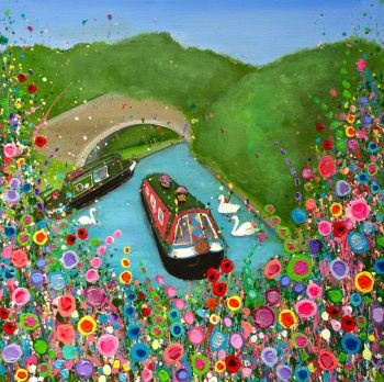 """""""Canal Boat Print"""" From £10"""