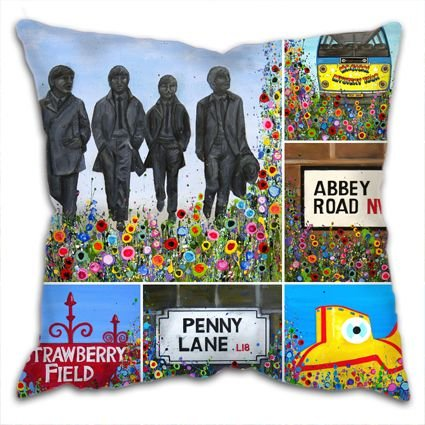 BEATLES CUSHIONS
